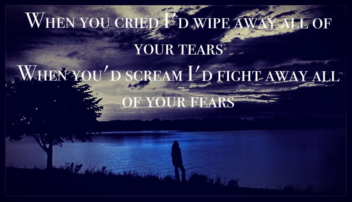 My Immortal Lyrics Evanescence Made By Me Quotessayings