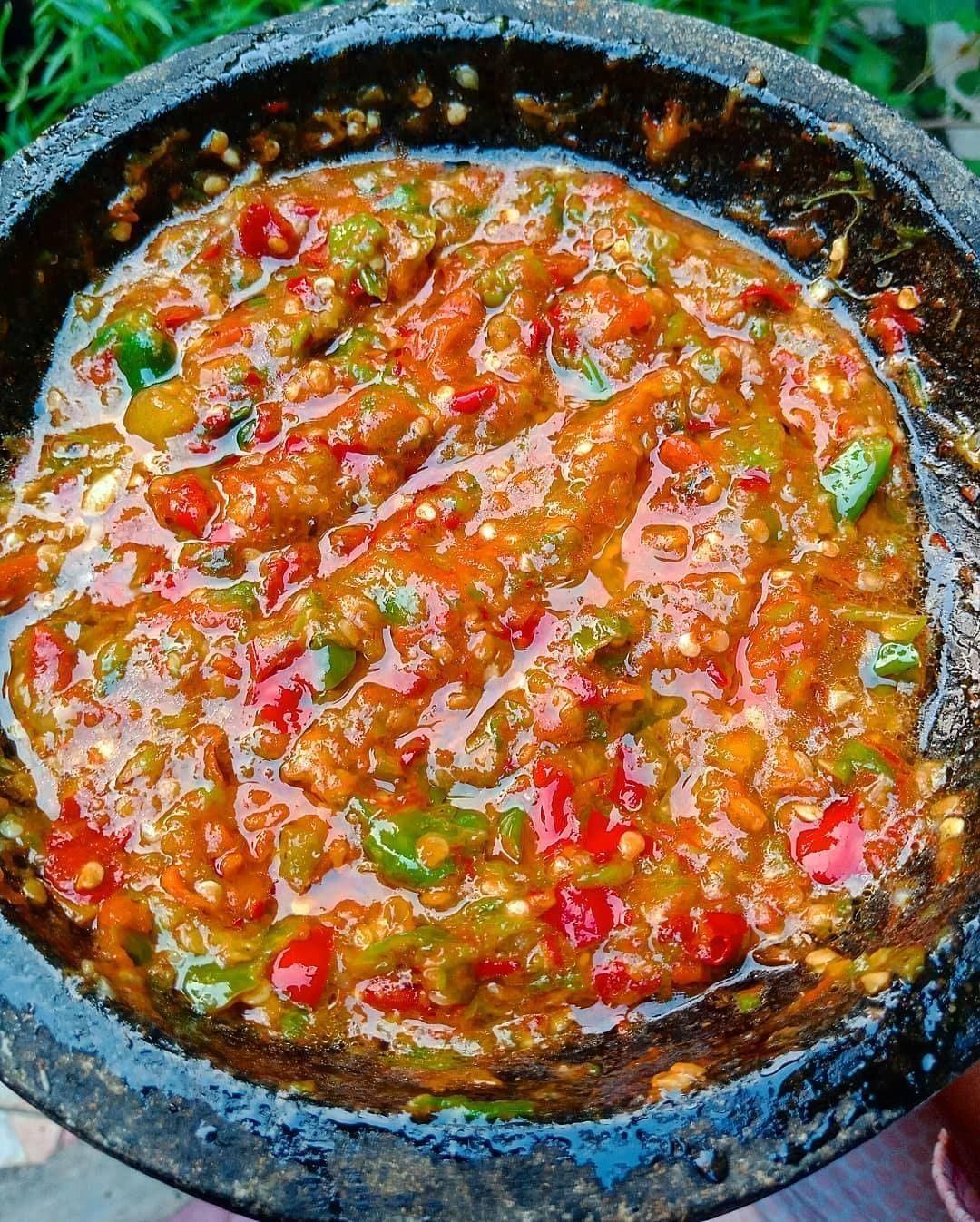 Resep Masakan Kue Di Instagram Sambel Ikan Asin Udah Abisss Ditodong Nyambel Lagi Sore2 Terasi Abis Yaudah Lah Makanan Pedas Resep Makanan Resep Masakan