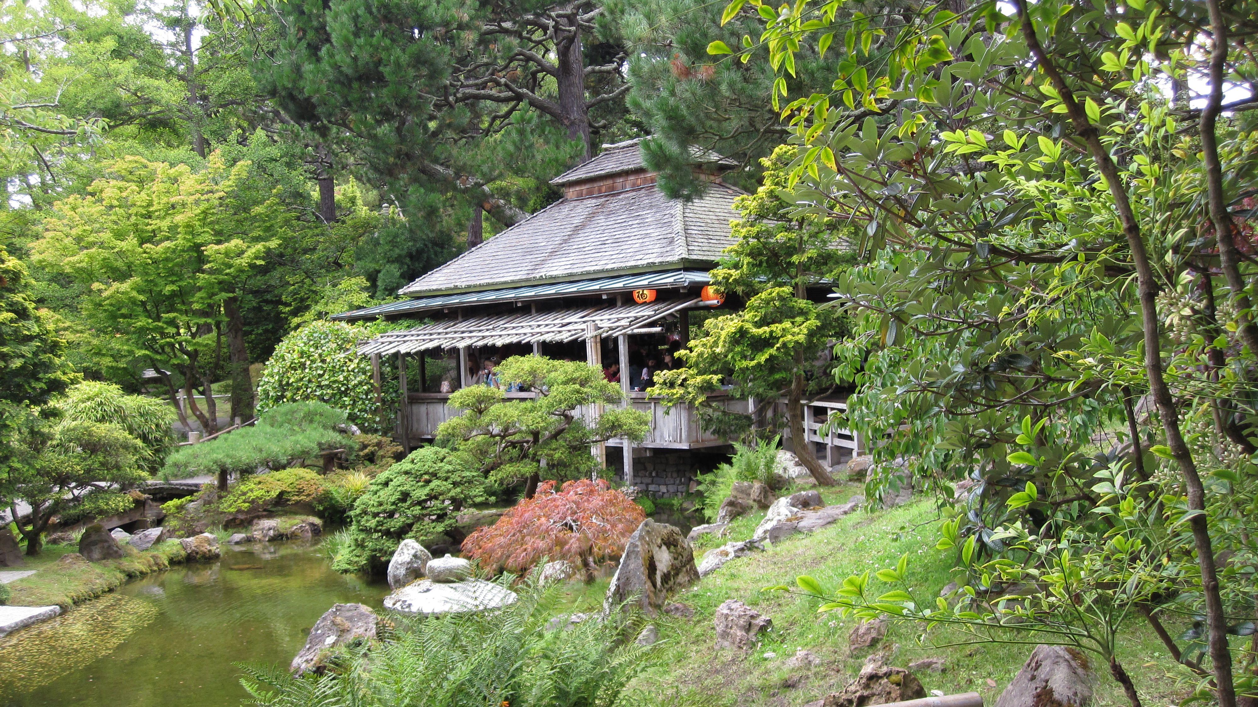 Japanese Tea House Japanese garden, gardens
