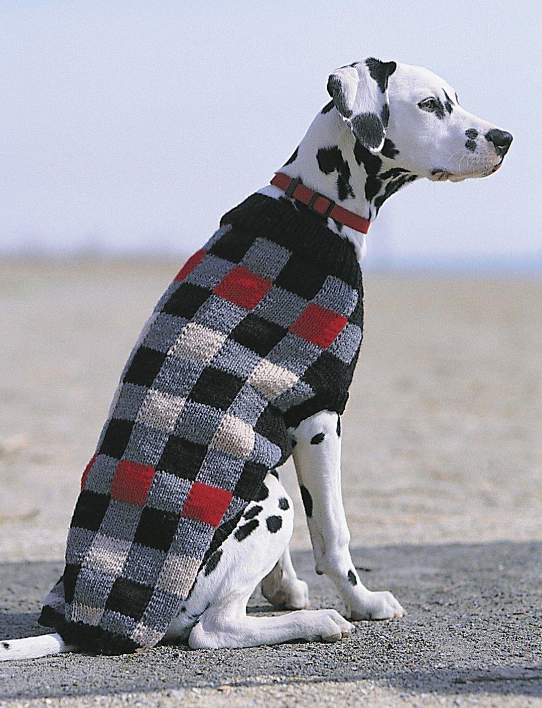 Yarnspirations Com Patons Canine Checks Patterns