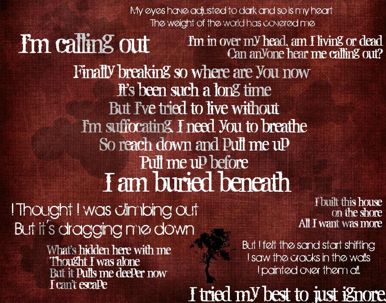 Red - Buried Beneath lyrics