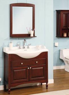 Shallow Depth Bathroom Vanity Solutions For Narrow Bathrooms Narrow Bathroom Vanities Bathroom Vanity Decor Narrow Bathroom