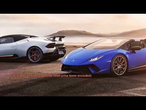 Lamborghini Huracan Performante Spyder 2019 Price Tube Car Sport