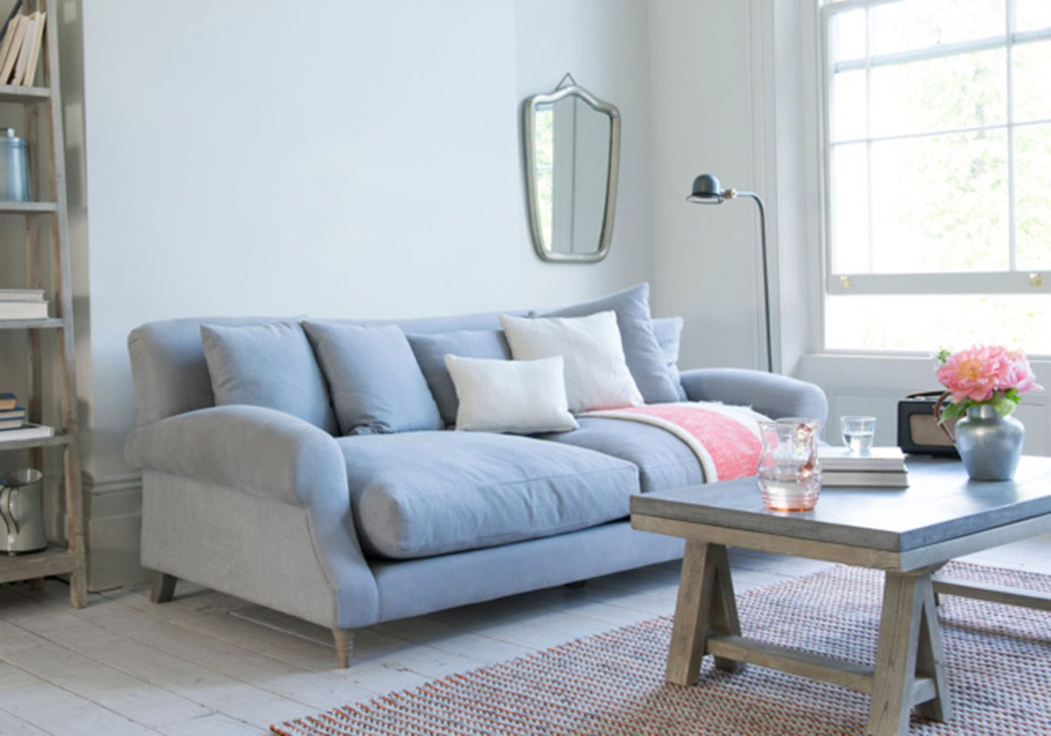 Blue Couch Comfortable