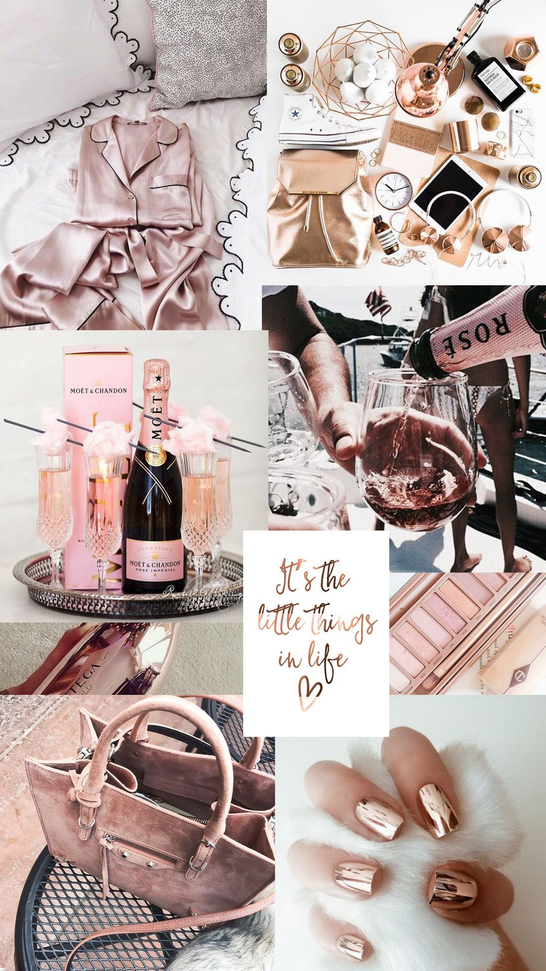 My Pinterest Boards Rose Gold Aesthetic Aesthetic Collage Gold