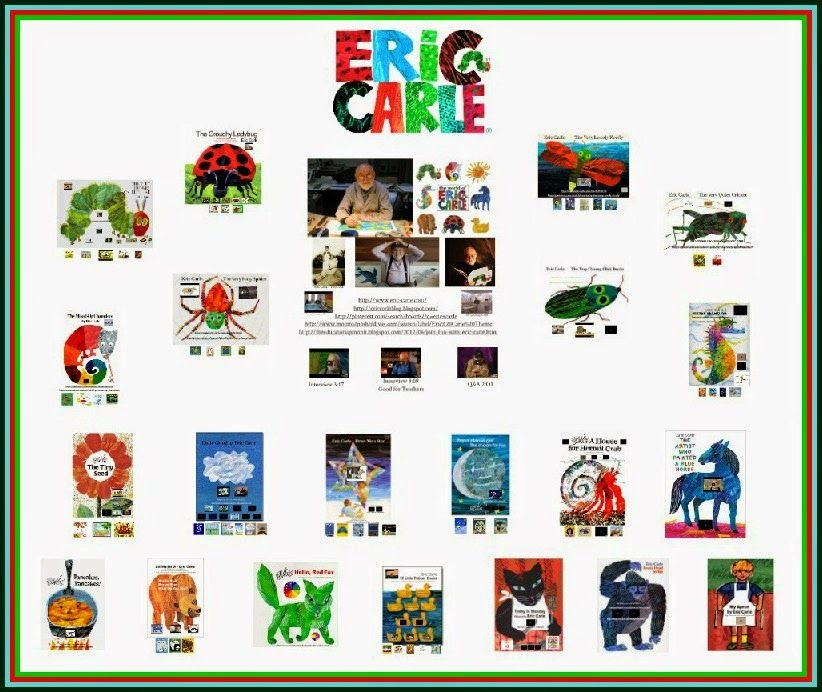 All about Eric Carle! (With images) Library lesson plans