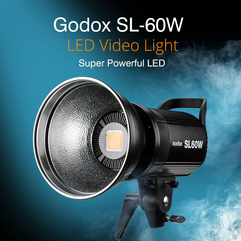 Sl Remote With Light Led 5600k Studio Godox 60w Continuous Video n0OvmN8w
