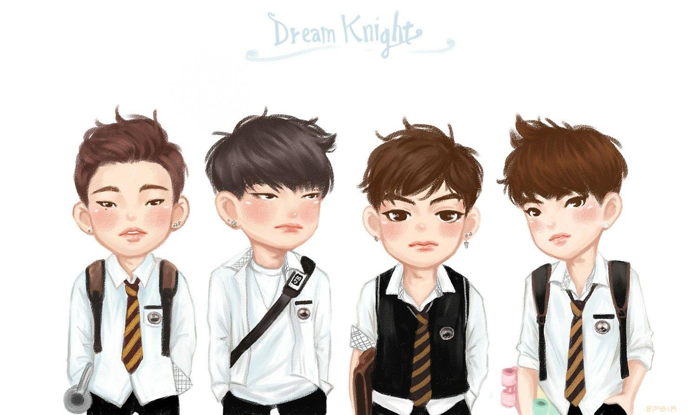 Dream Knight Got7 Got7 Fanart Fan Art Got7 Funny