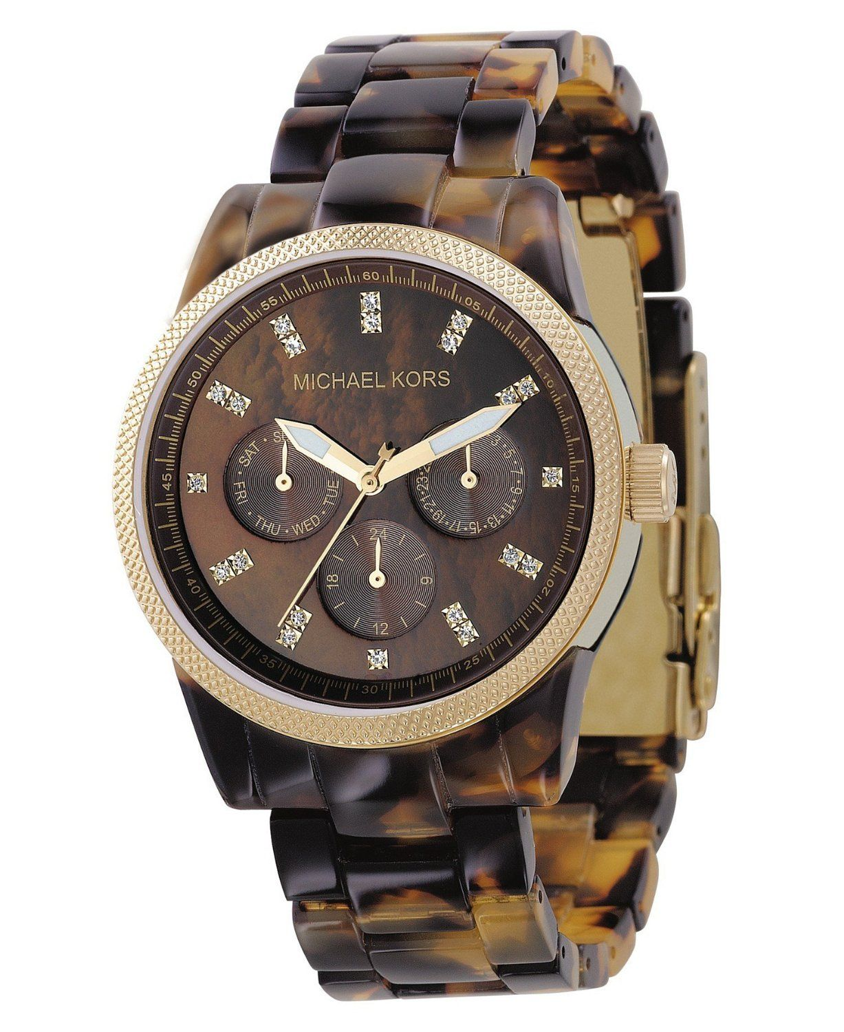 I have been coveting a michael kors tortoise shell watch for some time