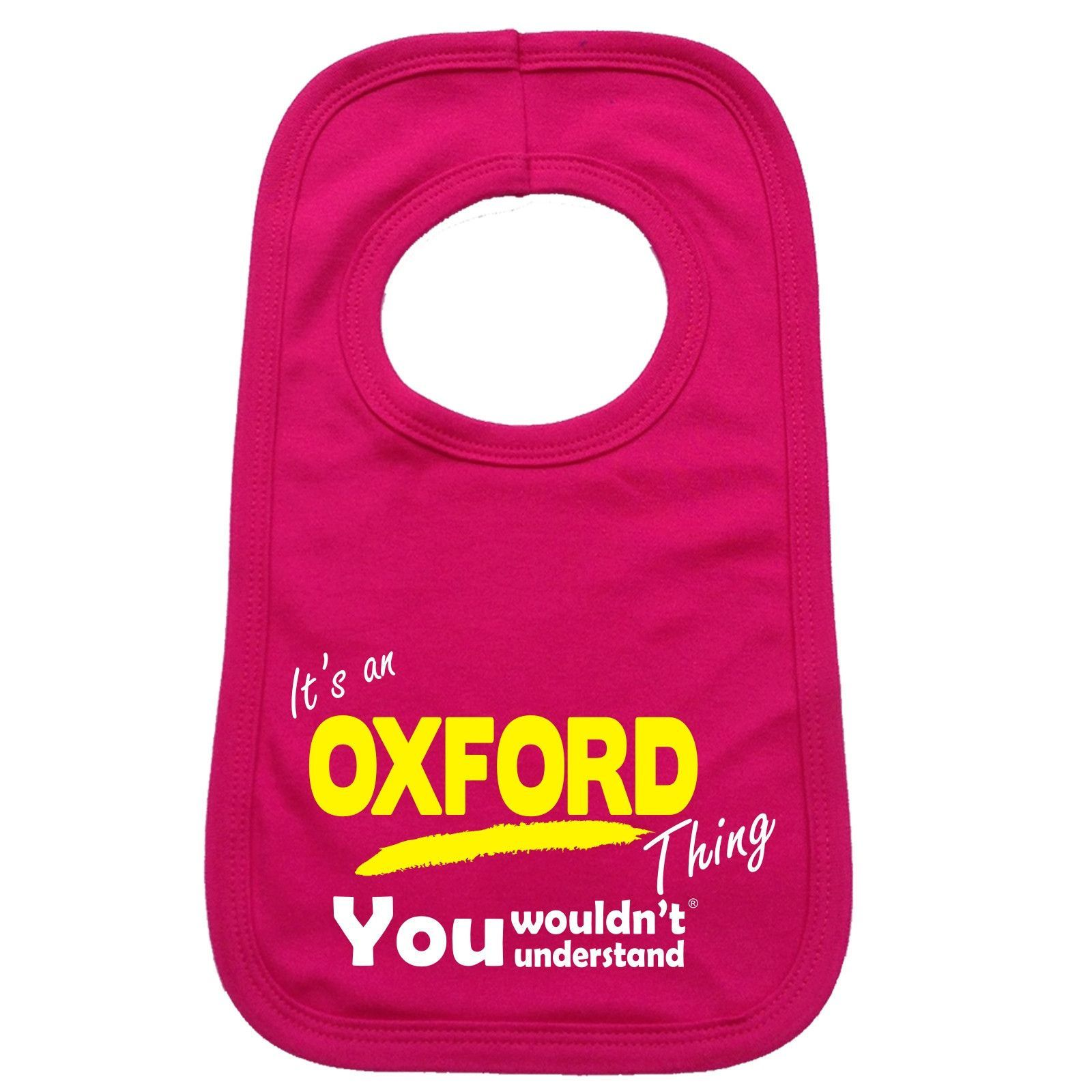 123t USA Baby It's An Oxford Thing You Wouldn't Understand Funny Baby Bib