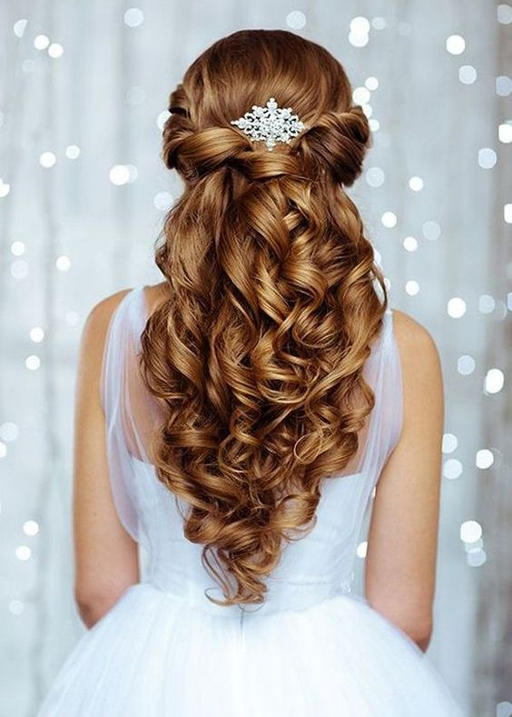 Wedding Hairstyles for Long Hair - A perfect hairstyle for the most ...