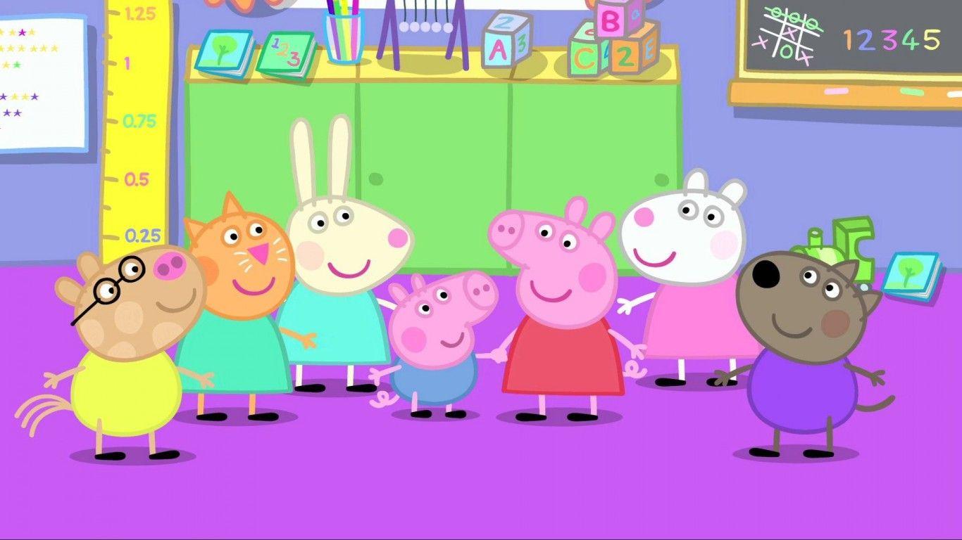 Peppa Pig HD Wallpaper