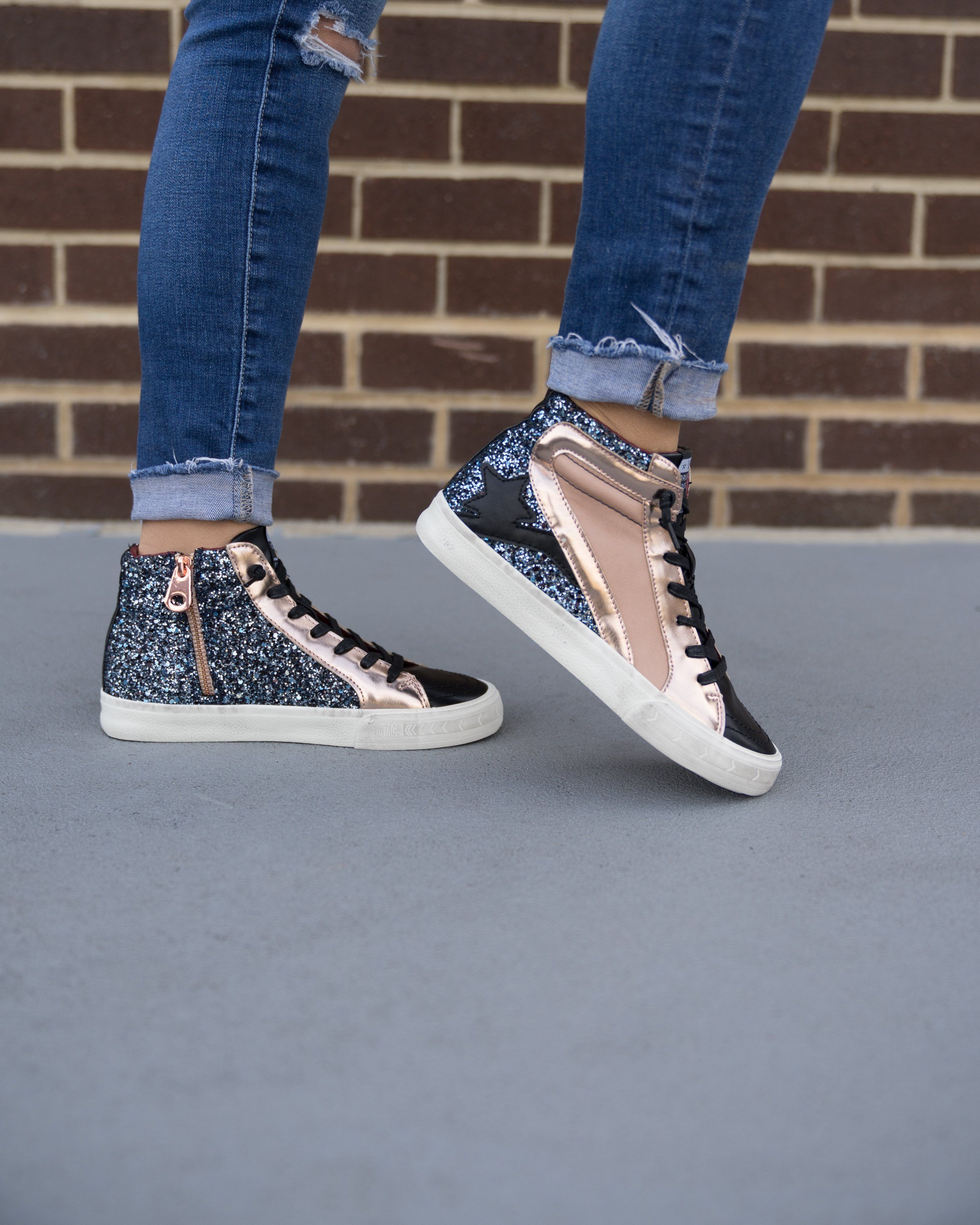 obsessing over these funky sneakers