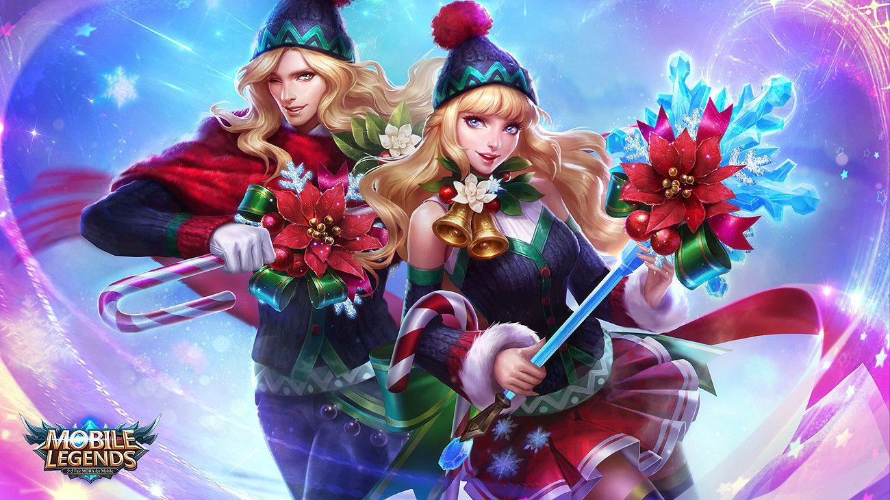 Alucard Mobile Legends Child Of The Fall Wallpaper Artstation Lancelot Odette Christmas Carnival Lasso