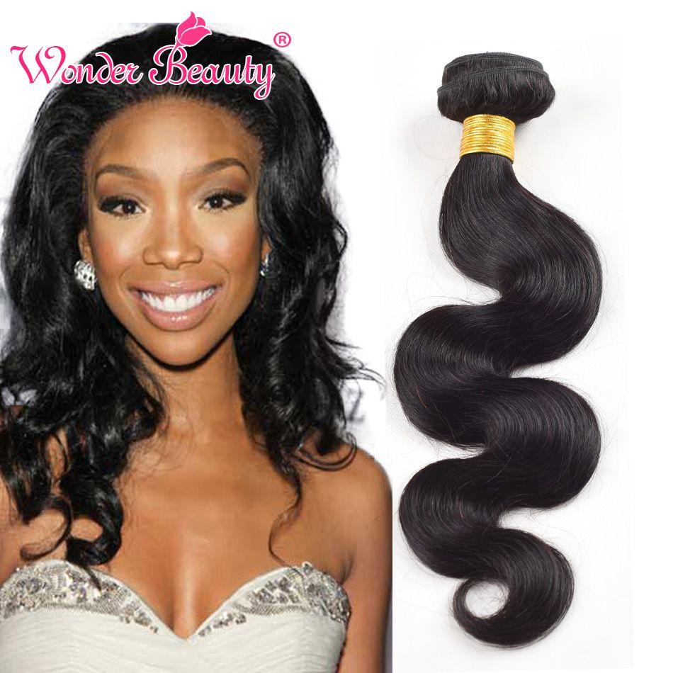 Peruvian Virgin Hair Body Wave Human Hair Weave Bundles 2PCS Unprocessed Virgin Peruvian Body Wave Wonder Beauty Hair