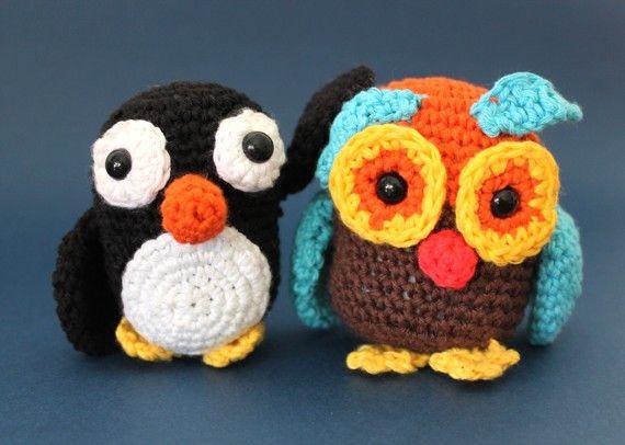 Amigurumi Patrones Gratis De Buho : Patrón para tejer un pingüino amigurumi amigurumis