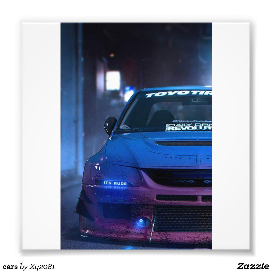 cars photo print | Zazzle.com