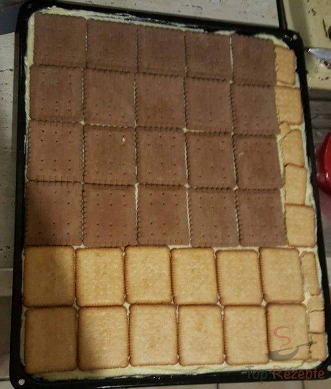 Bananen Kekswahnsinn Ohne Backen Rezept Kuchen Mit Butterkeks Butterkekse Desserts Ohne Backen