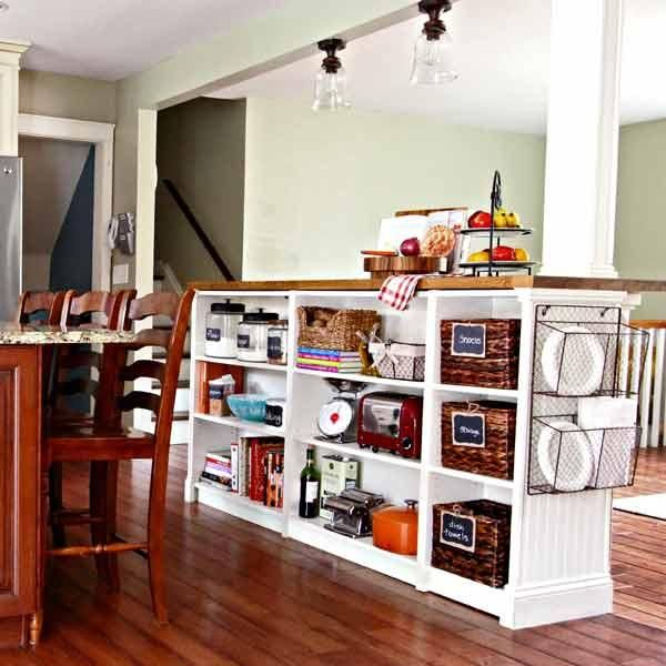 Diy Bookcase Kitchen Island: 9 Creative Low-Cost Upgrades From Our Favorite Bloggers