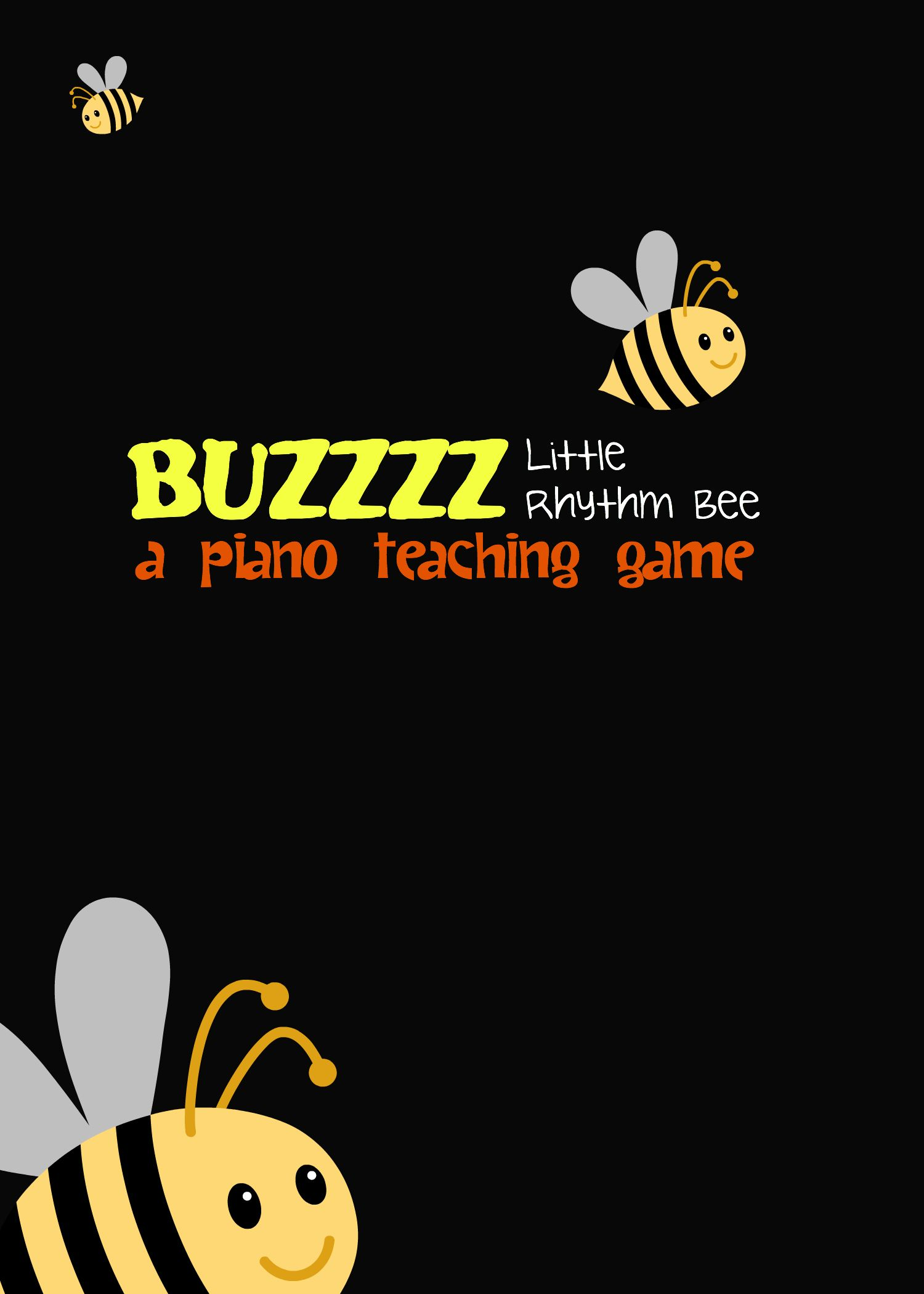 Buzz Little Rhythm Bee A Piano Teaching Game