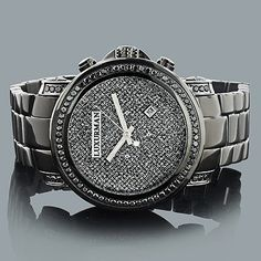 ct carats watches steel joe rodeo watch broadway diamond mens