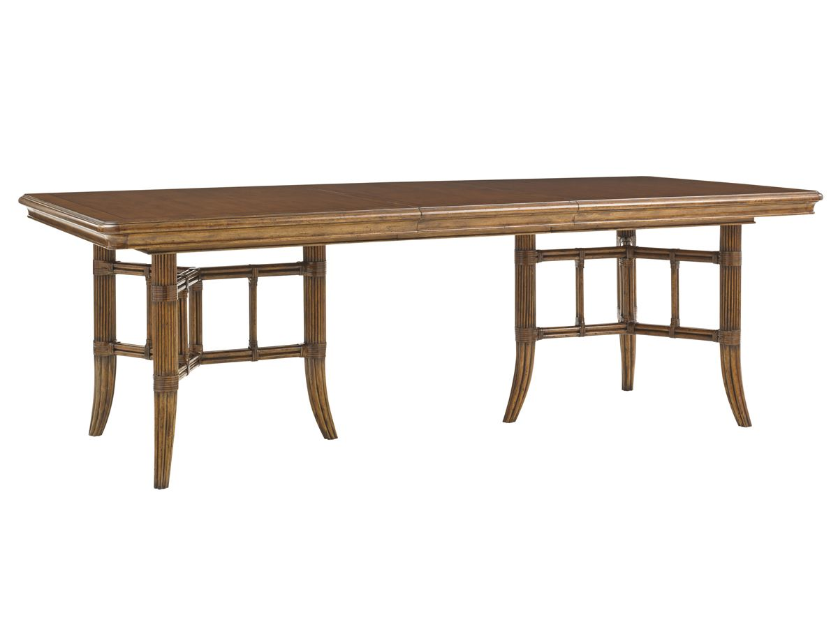 Shop For Tommy Bahama Home Fisher Island Rectangular Dining Table And Other Room Tables At Elite Interiors In Myrtle Beach SC