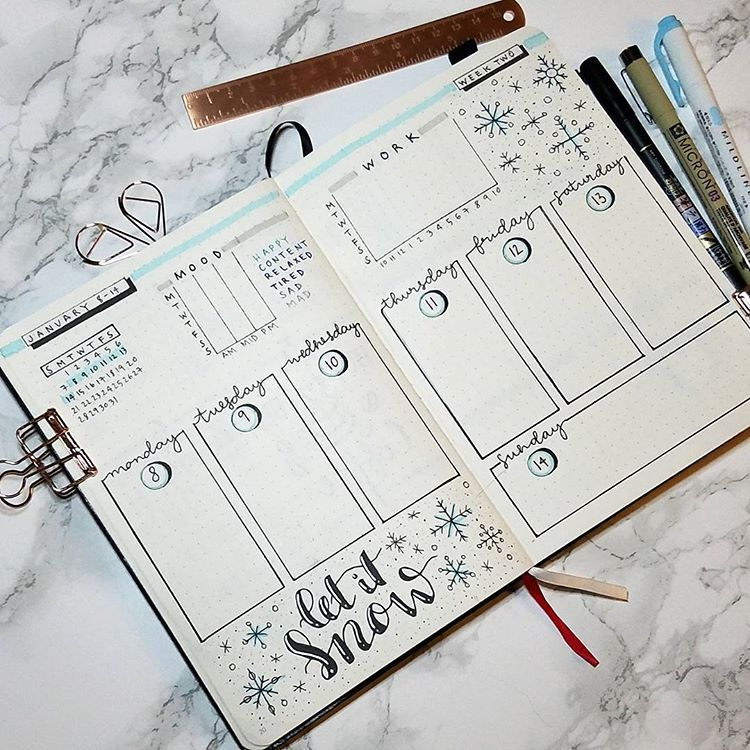 "Connie X on Instagram: ""Hope everyone is having a good weekend. Here is next week's layout. . . . . . #bulletjournal #bulletjournaling #bujonewbie #bujo…"""