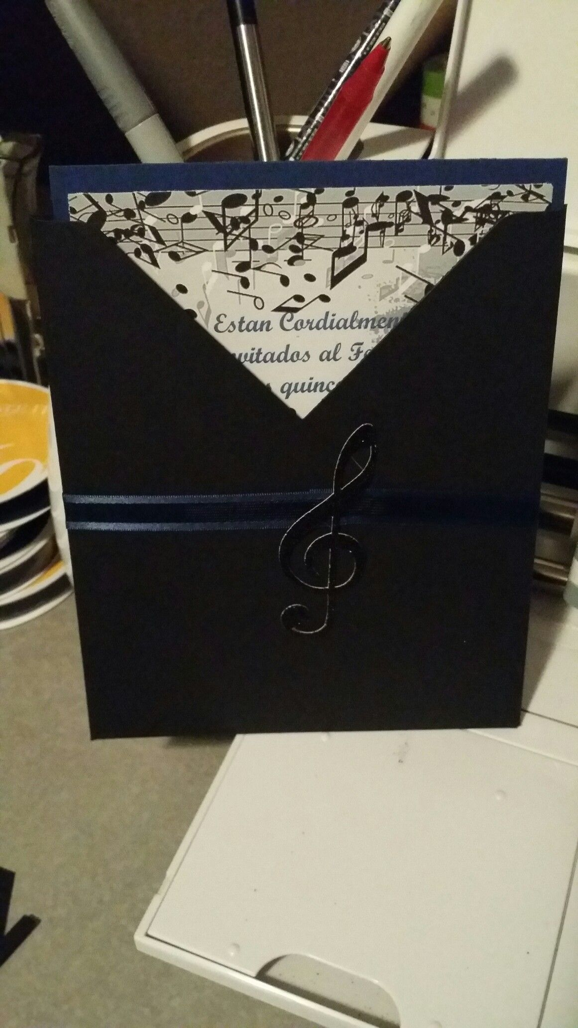 Music Notes Invitations Wedding Einladungen Musik Geschenke