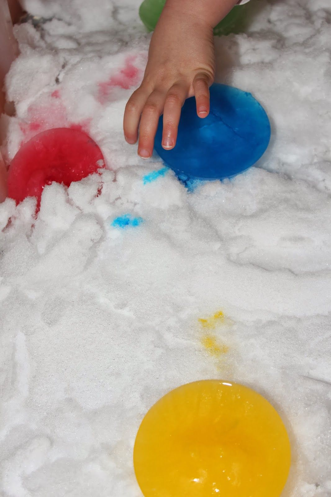 Schnee im Haus