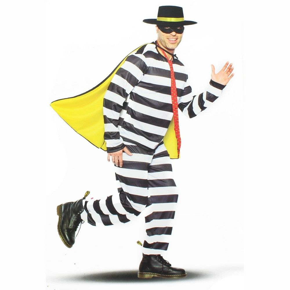 Seeing Red Inc. Burger Thief Adult Costume XX Large