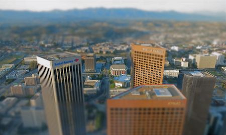 View of L.A. from U.S. Bank Tower