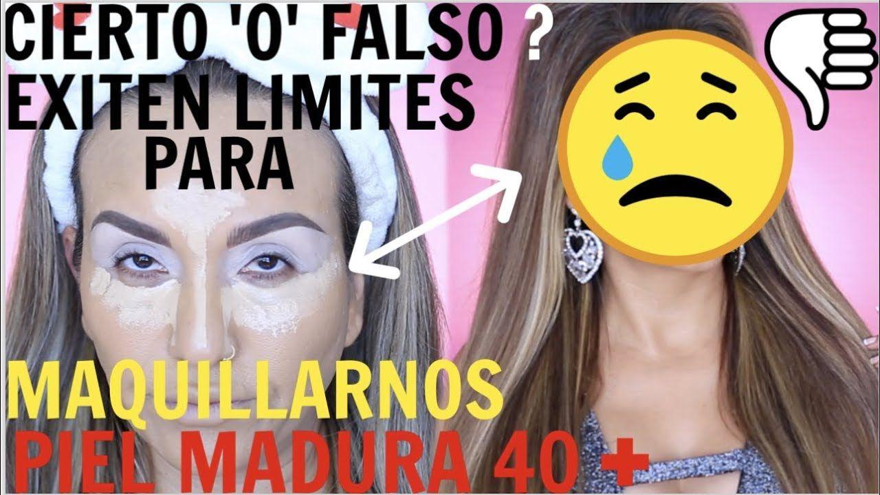 COMO MAQUILLAR PIEL MADURA DE 40 Y + / PASO A PASO  – Maquillaje