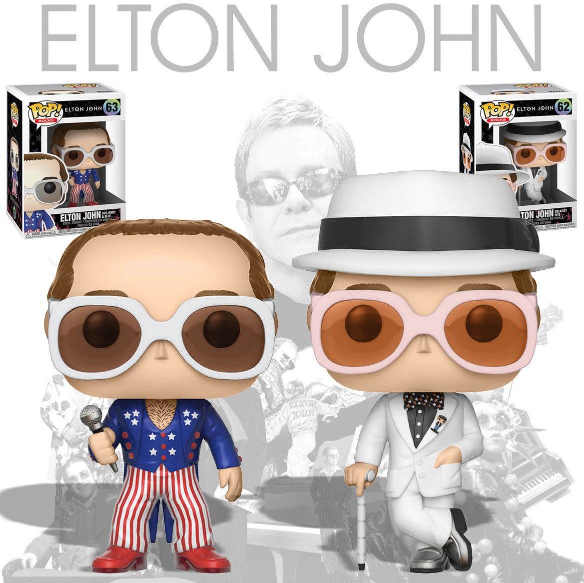 770f5e10fb0 Funko POP! Rocks Elton John Bundle (2 POPs) - New