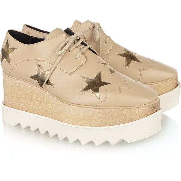 Stella Mccartney Woman Faux Leather Platform Sandals Black Size 40.5 Stella McCartney qCSrtxH