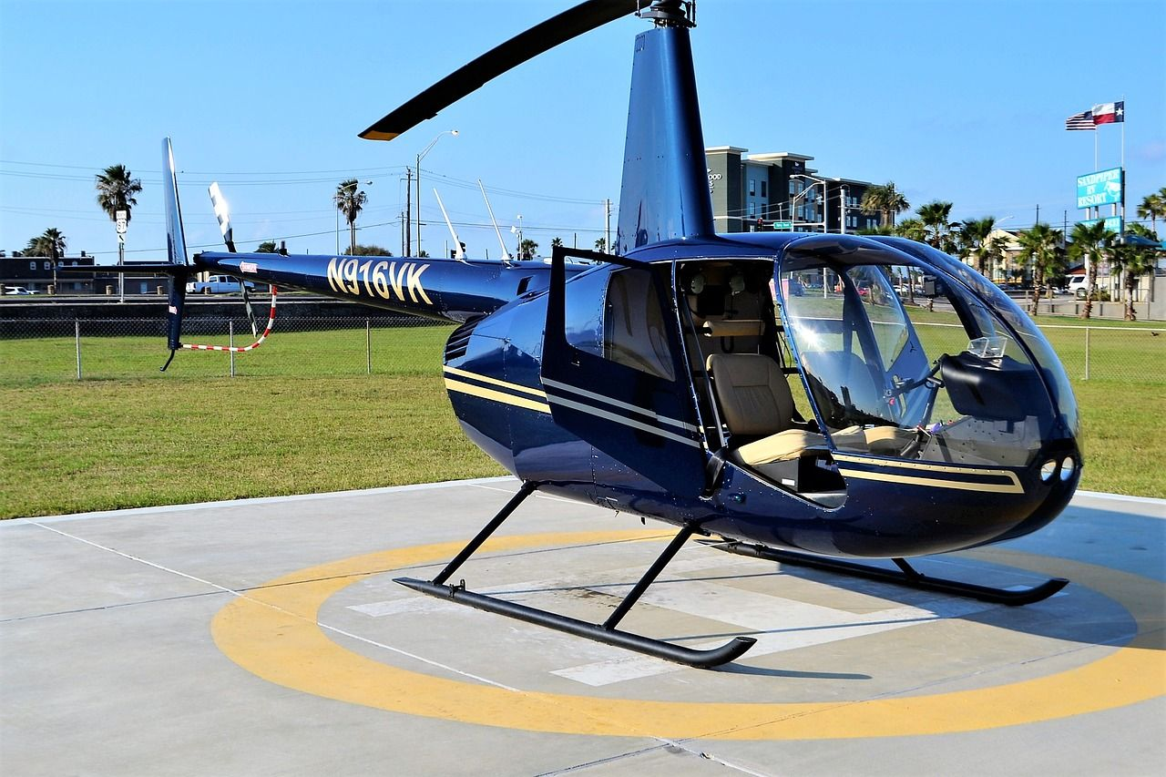 Helicopter Galveston Texas Seawall Free photo on Pixabay