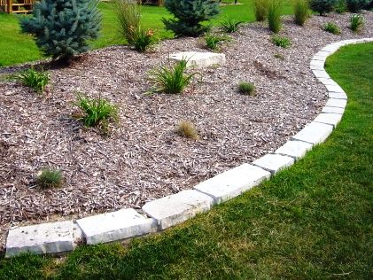 Landscaping With Rocks And Stones Stone Edging Yard