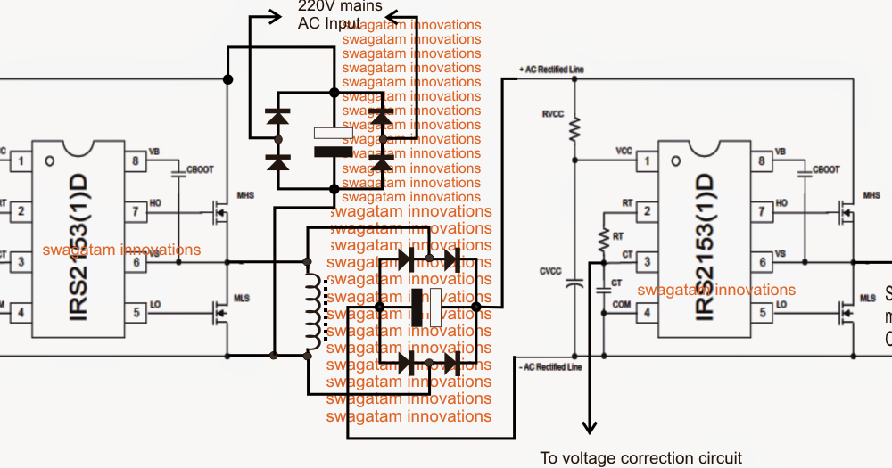 The post explains a simple a compact SMPS based mains voltage ...