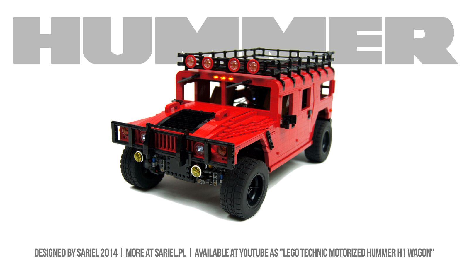Hummer car toys  Hummer  Hummer Lego and Lego vehicles