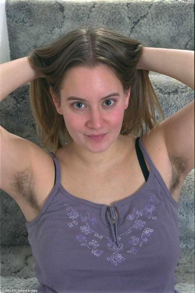 wife presenting hairy