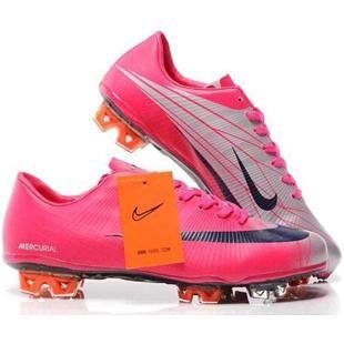 buy popular 343e7 a885f Sale Nike Mercurial Vapor VI Superfly II FG Soccer Shoes Red Silver Black