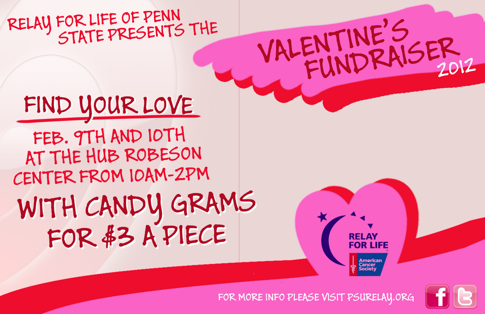 Relay For Life: Valentine's Fundraiser!