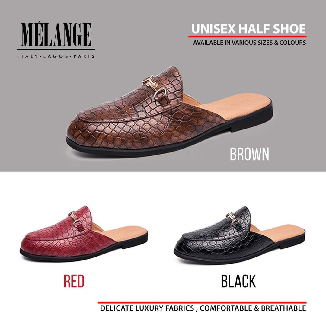 Unisex Half Shoes from MÉLANGE are