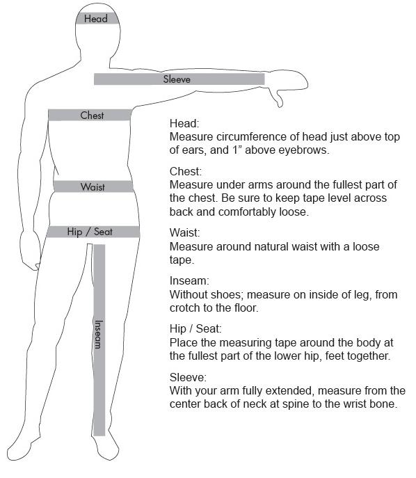 Body Size Chart Measurements | Costura | Pinterest | Men and women ...