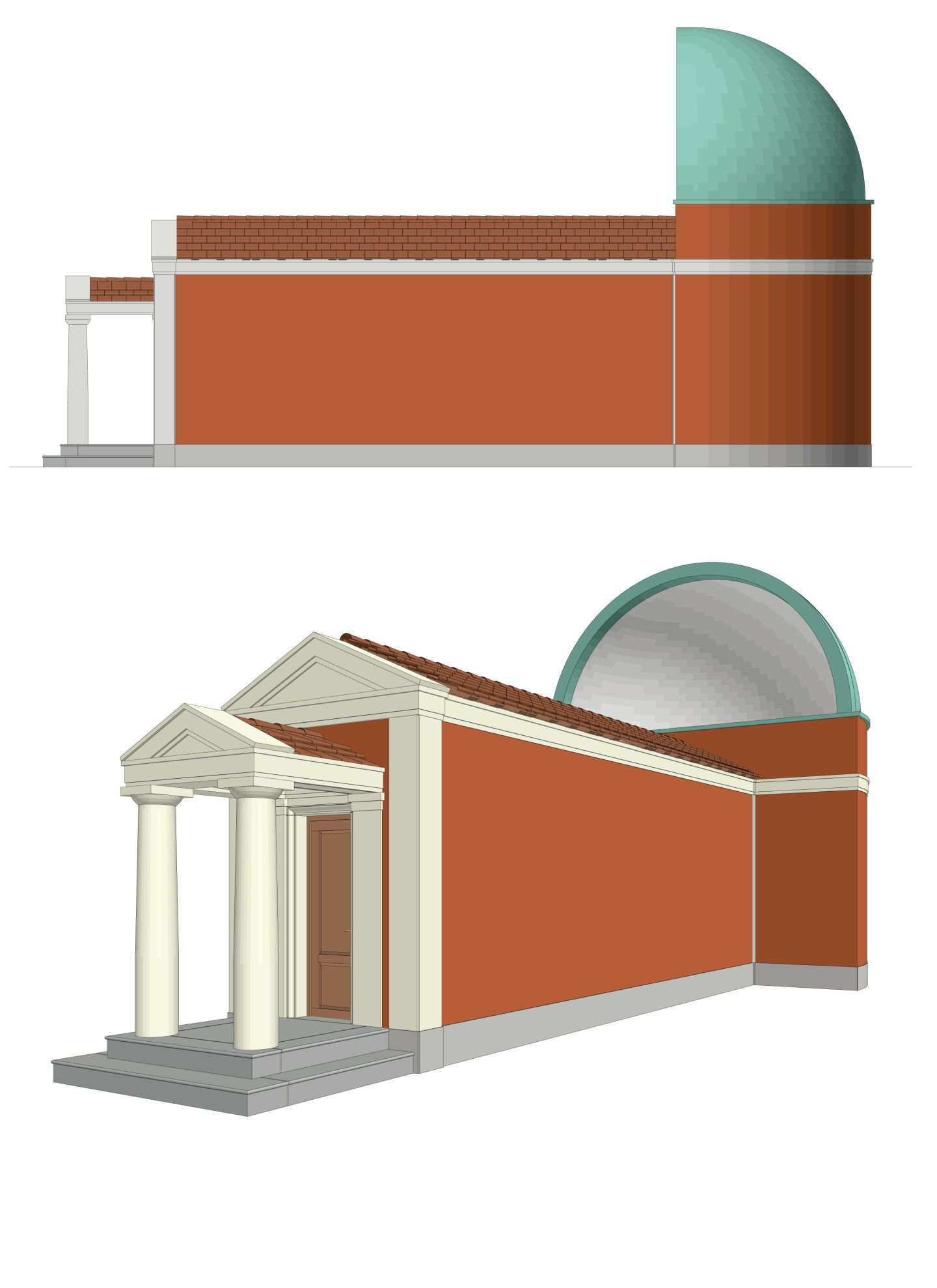 Hans Kollhoff, Mimmo Paladino, Andrea Martiradonna · Pavilion for the XXI Triennale di Milano · Divisare