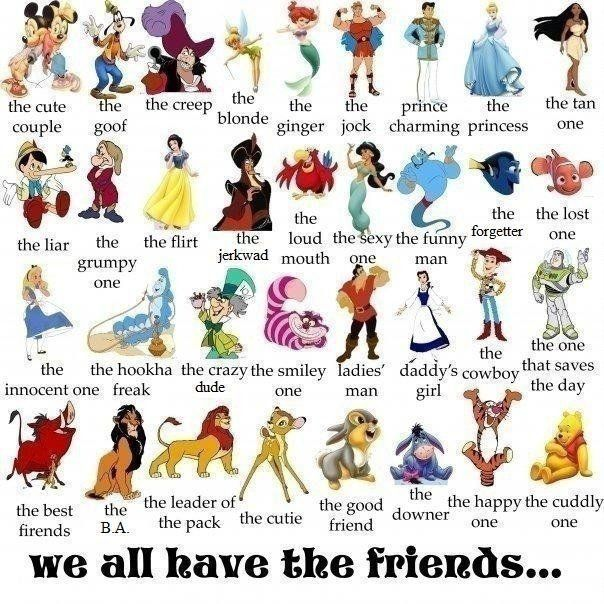 Archetypes Discover Your Essence And True Path Disney Characters Pictures Disney Friends List Of Disney Characters