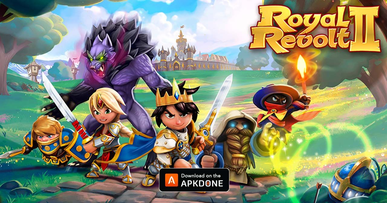 New Apk Royal Revolt 2 Mod Apk 6 3 6 Mod Mana Updated Modded Apkdone Revolt 2 Royal Defense Games