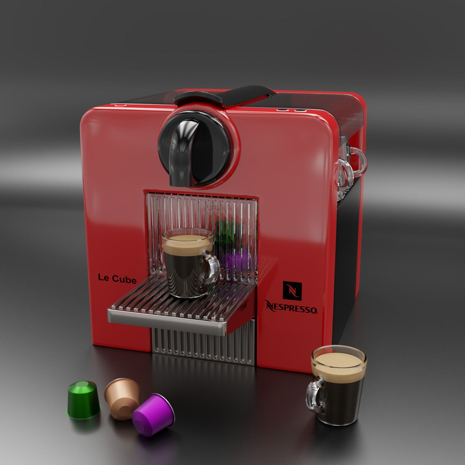 Coffee Machine Francis Mercure On Artstation At Https Www Artstation Com Artwork A2kwx Coffee Machine Coffee Nespresso