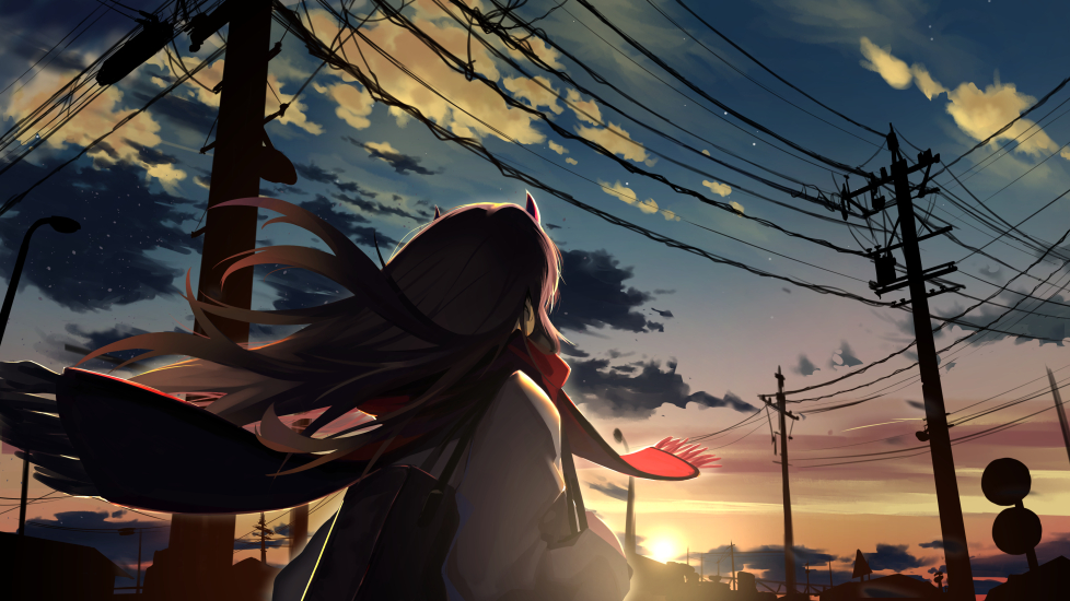 View and download this 978x550 Zero Two (Darling in the