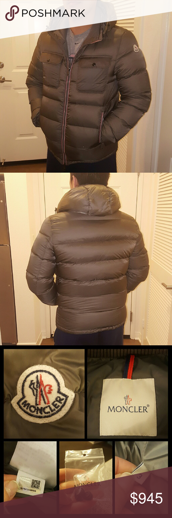 43889e945733 Authentic Moncler Down Jacket