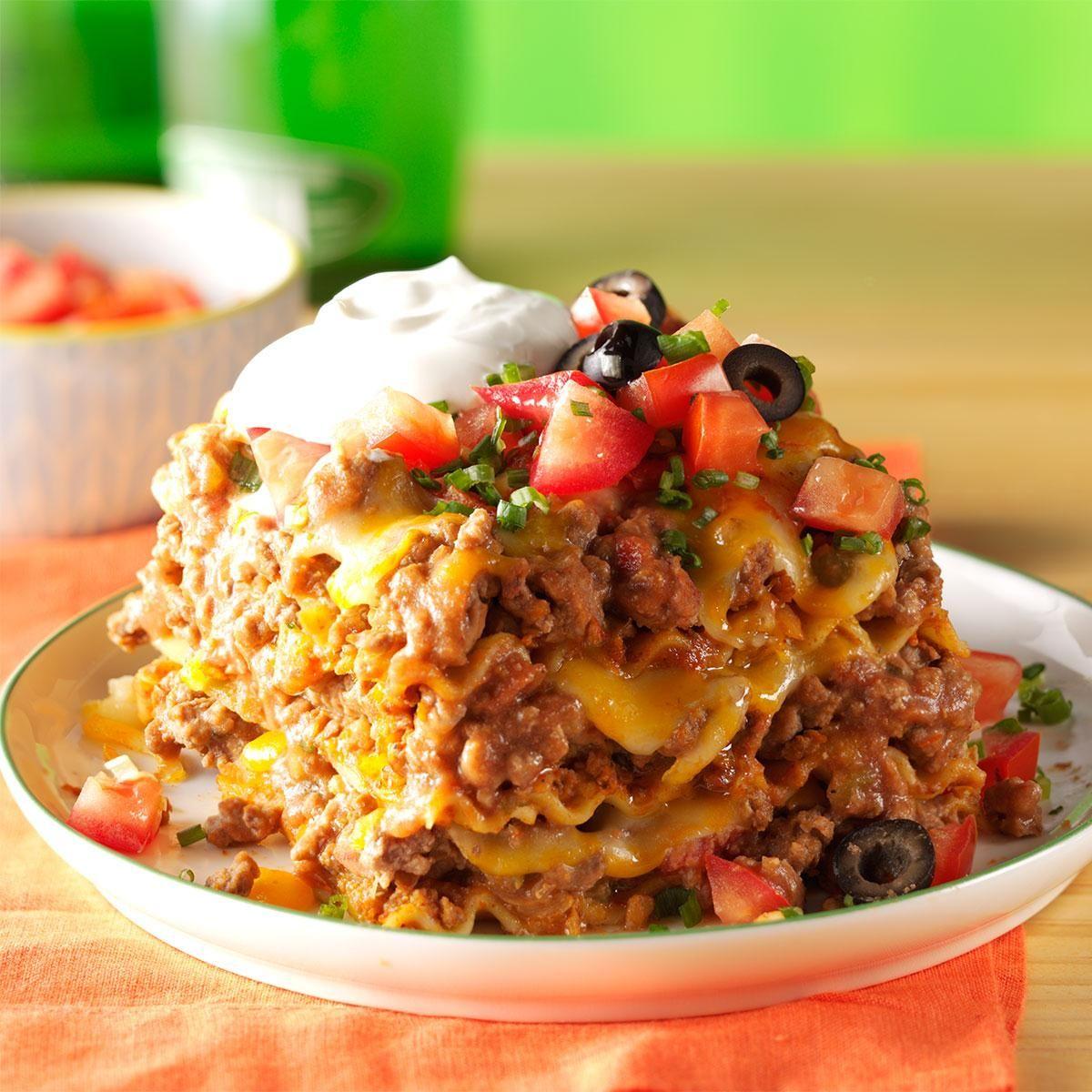Mexican Lasagna Recipe: Mexican Lasagna